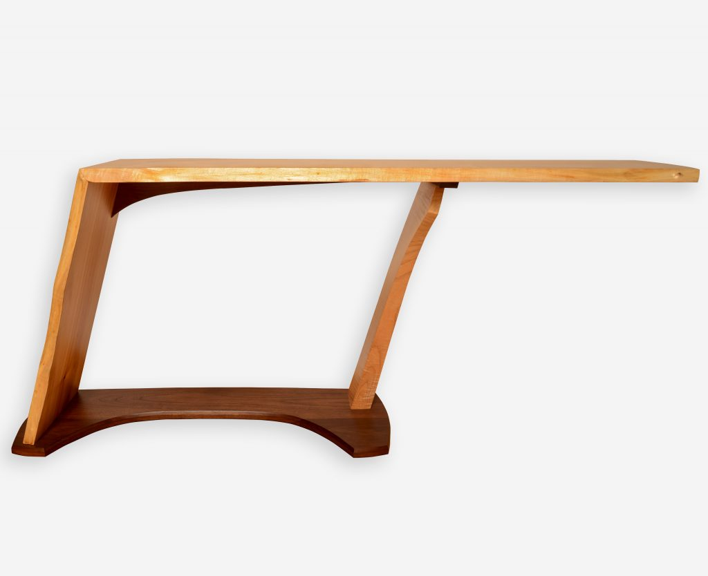 Maple and Alder TV Table